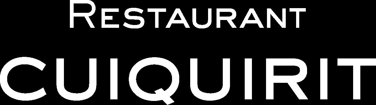RESTAURANT CUIQUIRIT
