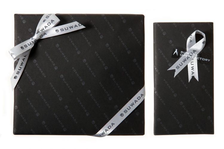 ●包装紙のみ / ●包装紙+リボン包装